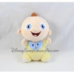 Peluche Jack Jack bébé DISNEY STORE Les Indestructibles pyjama jaune 18 cm