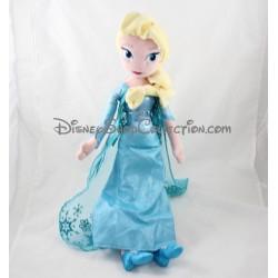 Poupée peluche Elsa DISNEY STORE La Reine des Neiges Frozen 50 cm