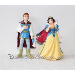 Ensemble de figurine Blanche Neige et le prince Charmant DISNEY 6.5 cm