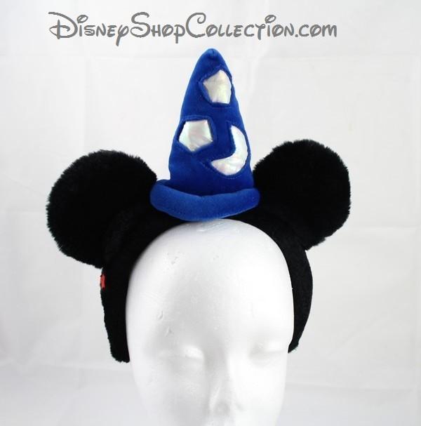 Serre Tete Mickey Disney Oreilles De Mickey Mouse Chapeau Sorcier F