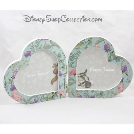 Cadre photo Panpan PRIMARK Disney coeur bois 15 cm