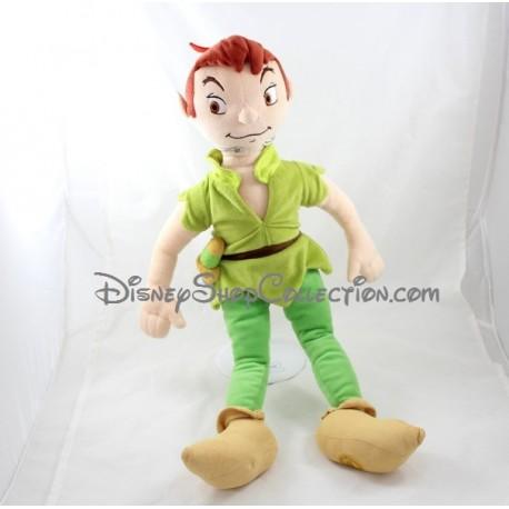 Poupée Peluche Peter Pan Disney Store écusson 55 Cm Disneyshopcol