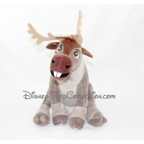 Peluche renne sven disney la reine des neiges play by play - Renne reine des neiges ...