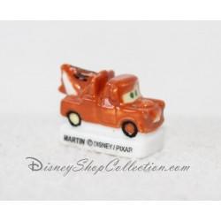 Fève Martin DISNEY Cars Pixar en relief céramique