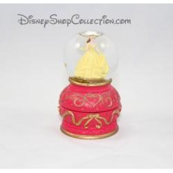 Globo de la nieve hermosa DISNEY belleza y la bestia nieve globo caja 9 cm