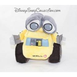 Peluche Wall.E DISNEY PIXAR Nicotoy robot jaune gris 25 cm