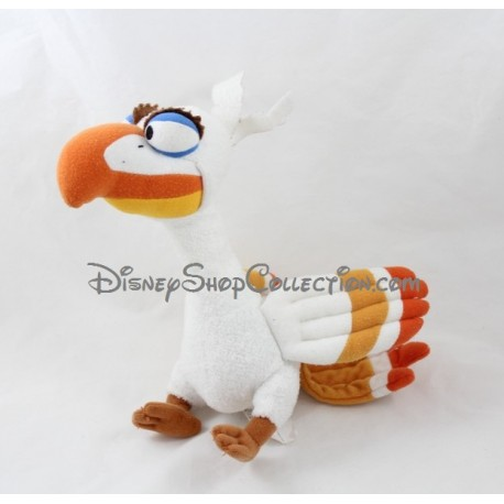 Stuffed Bird Zazu The Broadway Lion King Disney Musical White 2