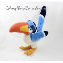 Peluche oiseau Zazu DISNEY Le roi lion vintage bleu 29 cm