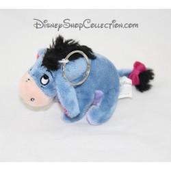 Key door plush donkey DISNEYLAND PARIS Bourriquet blue Disney 10 cm