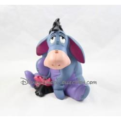 Tirelire plastique Bourriquet DISNEY BULLYLAND Winnie l'Ourson grande figurine Pvc 18 cm