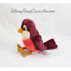 Peluche Robin oiseau DISNEY STORE Princesse Sofia rouge Disney Junior