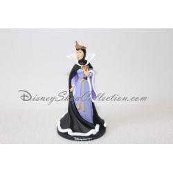 Estatuilla de la resina blanco de la nieve malvado Reina de Disney y los 7 enanitos los villanos