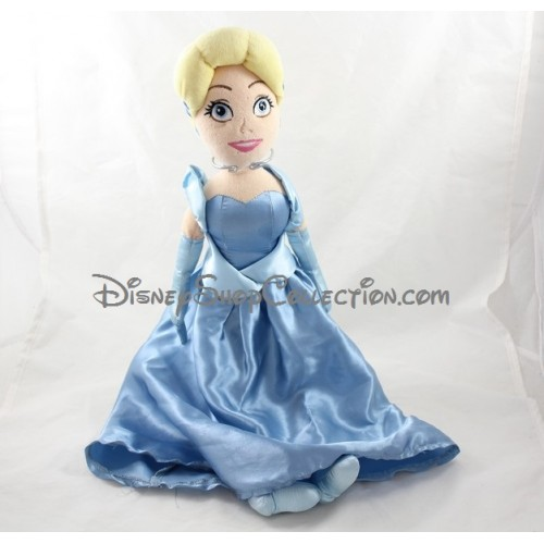 poup e peluche cendrillon disney store robe bleue. Black Bedroom Furniture Sets. Home Design Ideas