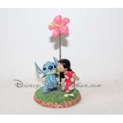 Figurine porte photo Lilo et Stitch DISNEYLAND PARIS résine 14 cm