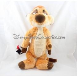 Peluche suricate Timon DISNEY STORE Le Roi Lion coccinelle dans la main 44 cm