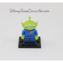 Figurine alien DISNEY LEGO Toy Story vert bleu 4 cm
