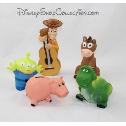 Jouet de bain Toy Story DISNEY STORE lot de 5 figurines pvc