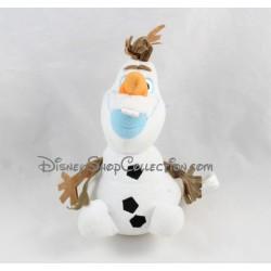Peluche Olaf DISNEY STORE La Reine des Neiges bonhomme de neige 20 cm