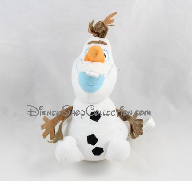 Peluche olaf disney store la reine des neiges bonhomme de - Olaf de la reine des neige ...