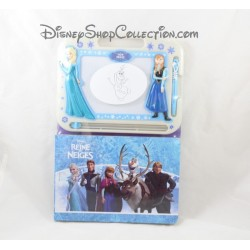 Slate magic + book DISNEY the Queen snow white blue 22 cm