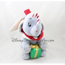Peluche éléphant Dumbo DISNEYLAND PARIS Noël sucre d'orge et cadeau Disney 33 cm