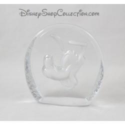 Presse papier Pluto DISNEY chien de Mickey cristal d'arques 14 cm