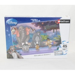 Puzzle the the jungle book 2 DISNEY NATHAN 45 parts 5 years and +.