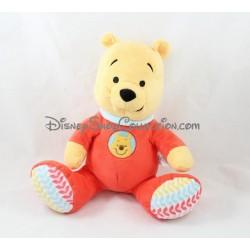 Peluche Winnie l'ourson NICOTOY pyjama rouge bébé Disney 25 cm