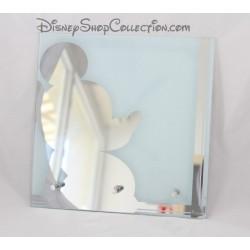 Miroir Mickey DISNEY carré avec 3 patères 25 cm