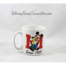 Mug Mickey DISNEYLAND PARIS tasse céramique lettre M since 1928