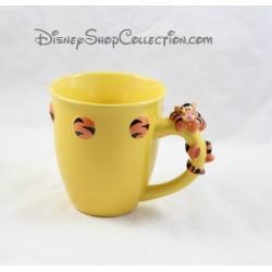 Mug en relief Tigrou DISNEY STORE tasse en céramique 3D 11 cm
