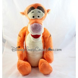 Peluche Tigrou DISNEY NICOTOY ami de Winnie l'Ourson classique orange 42 cm