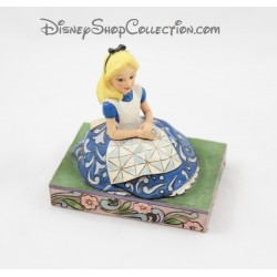 Figurine Alice DISNEY TRADITIONS Awaiting an adventure Showcase Collection 11 cm