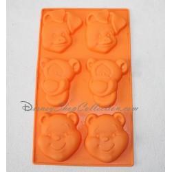 Moule en silicone Winnie l'ourson DISNEY gâteaux x 6 Porcinet et Tigrou