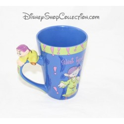 Relief mug dopey DISNEY STORE snow white and the 7 dwarfs Cup 3D