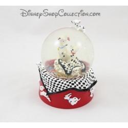 Snowglobe Les 101 Dalmatiens DISNEY petite boule à neige 10 cm