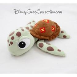 Peluche Squizz tortue DISNEY STORE Le Monde de Nemo 28 cm