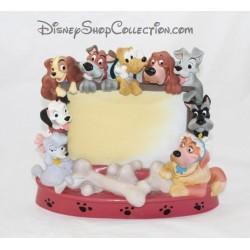Cadre photo résine chien DISNEY STORE différents chiens Disney