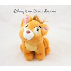 Teddy Oliver cat DISNEY Oliver & company red 20 cm