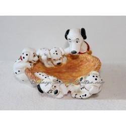 Figurine Les 101 Dalmatiens GROSVENOR porte savon plastique souple