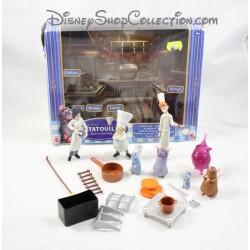 Lot de 9 figurines Ratatouille DISNEY MATTEL 8 accessoires 12 cm