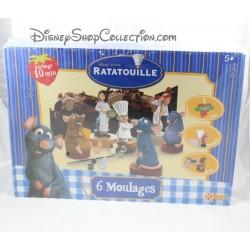 Jeu de pâte à sel Ratatouille DISNEY KERLUDE 6 moulages + 2 petits coffrets