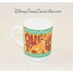 Mug Le roi lion DISNEY Kiara et Kovu tasse céramique 9 cm