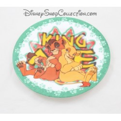 Ceramic plate the King lion DISNEY Kiara and Kovu