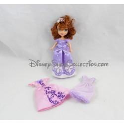 Mini poupée Princesse Sofia MATTEL Disney 3 tenues robes 14 cm