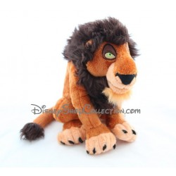 Peluche lion Scar DISNEYPARKS Le Roi Lion méchant oncle de Simba Disney 28 cm
