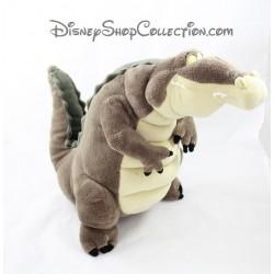 Peluche Louis crocodile DISNEYLAND PARIS La princesse et la grenouille Disney 30 cm