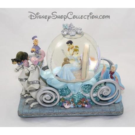 Snow globe musical Cendrillon DISNEY carrosse 50th anniversaire boule à neige 22 cm