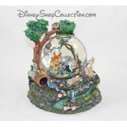 Snowglobe Peter Pan DISNEYLAND bateau Capitaine Crochet boule à neige