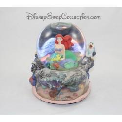Globo musical Ariel DISNEY de nieve de la bola de nieve pequeña sirena bajo el mar 20 cm